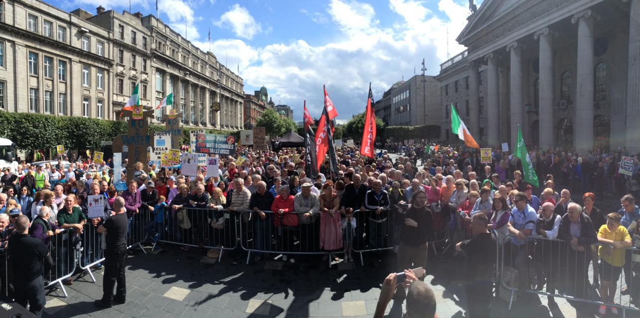 right2water Ireland austerity