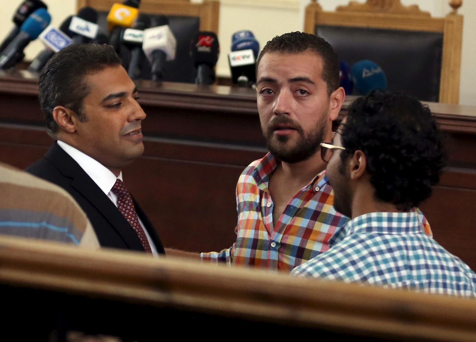 Al Jazeera arrests in Egypt