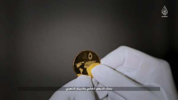 ISIS Islamic State Dinar