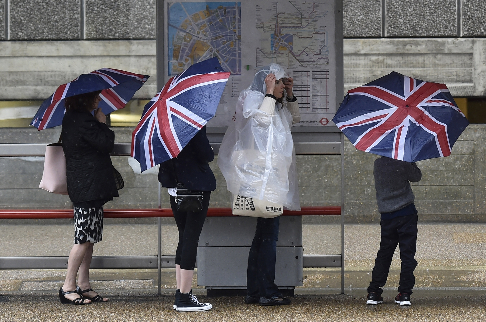 UK rain washout