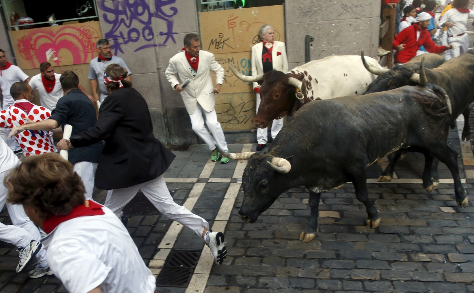 bulls Spain Pamplona fatalities