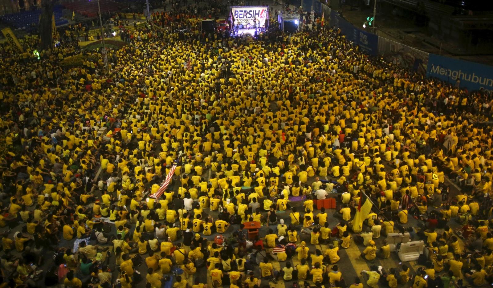Malaysia protests against Najib Razak
