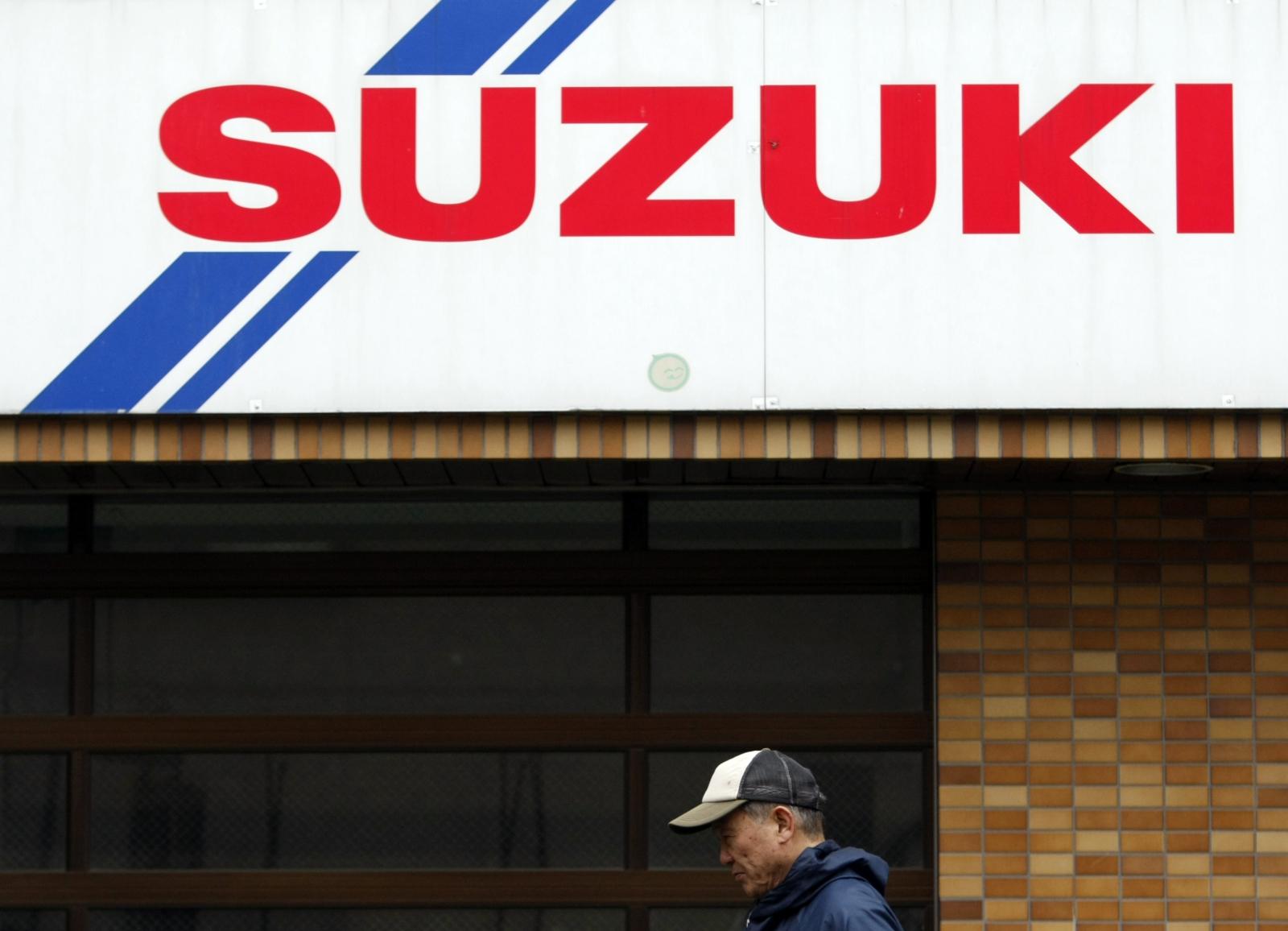 Suzuki dealer shop, Tokyo
