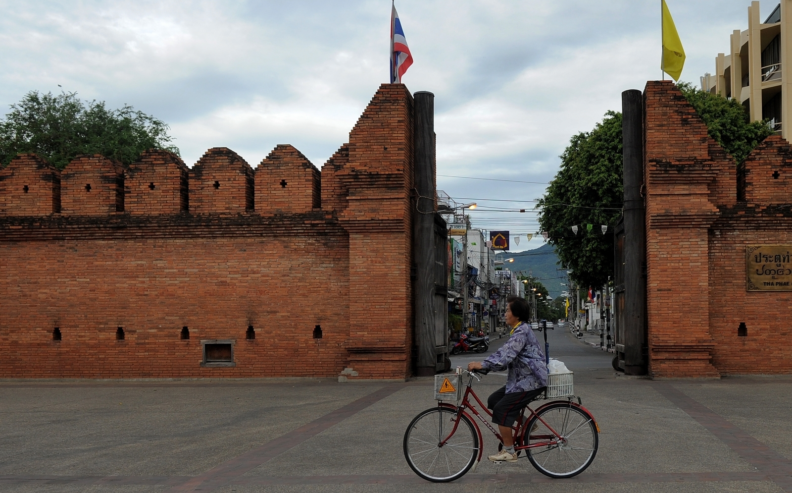 Tha Phae Gate in Chiang Mai