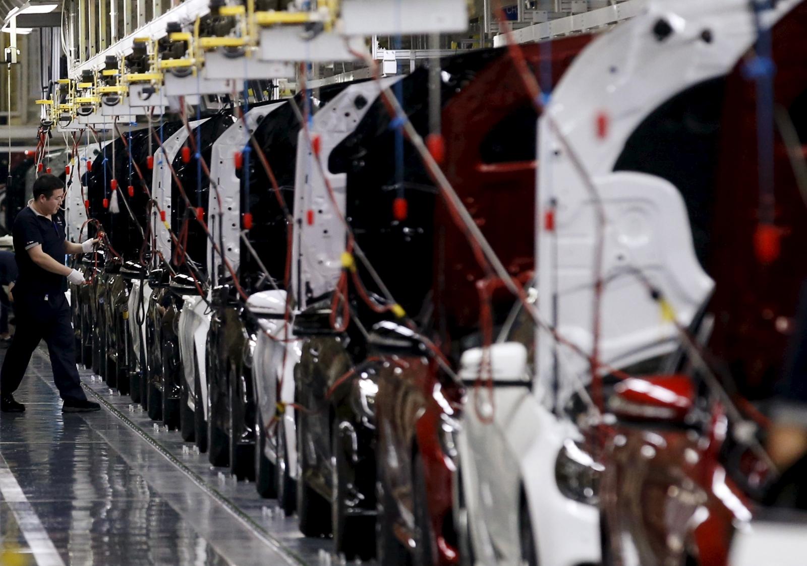 Mercedes-Benz factory, Beijing