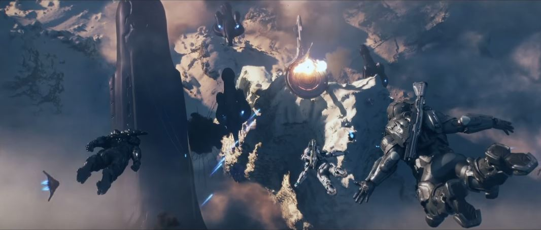 Halo 5 opening cinematics
