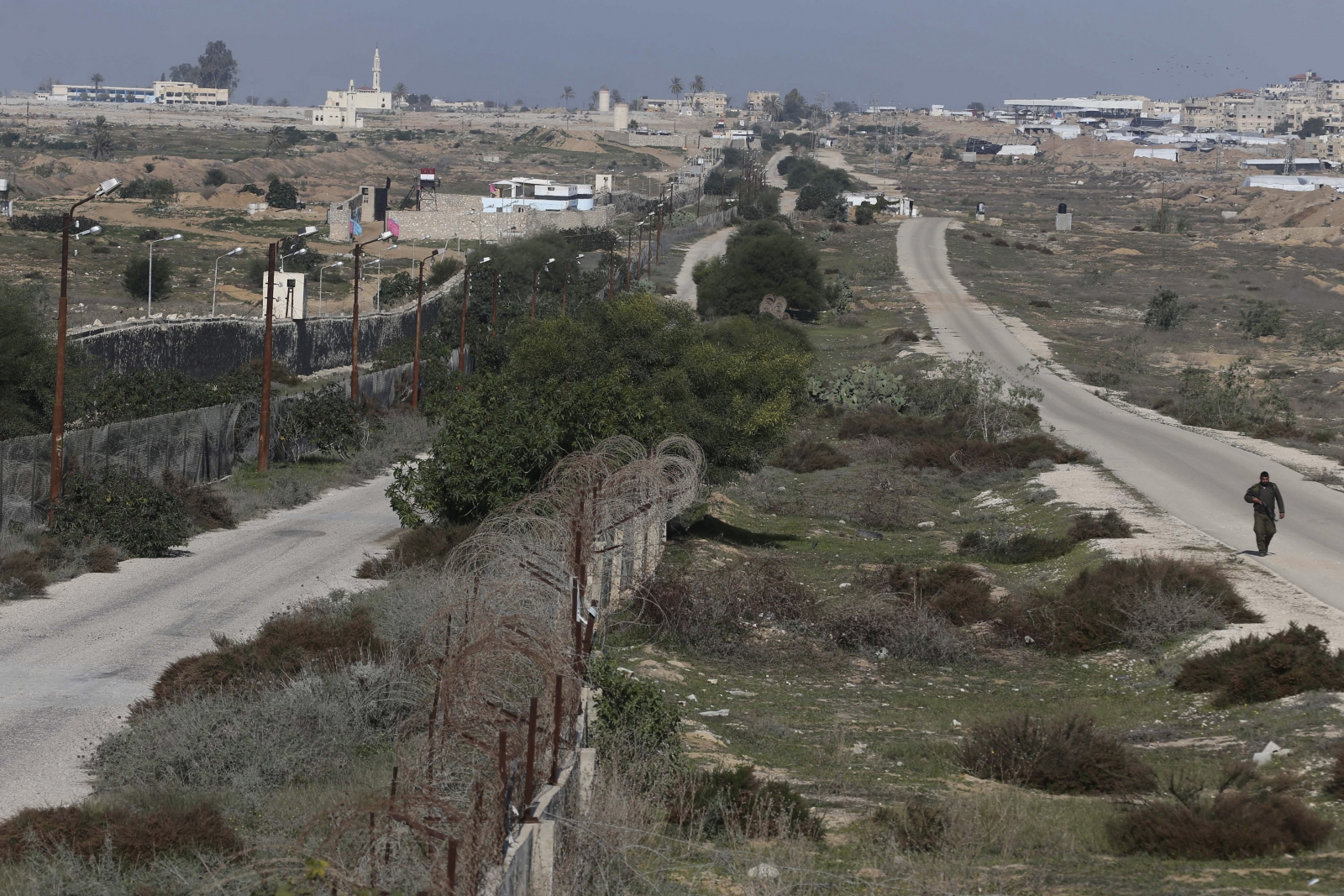 Egypt Gaza border Hamas tunnels