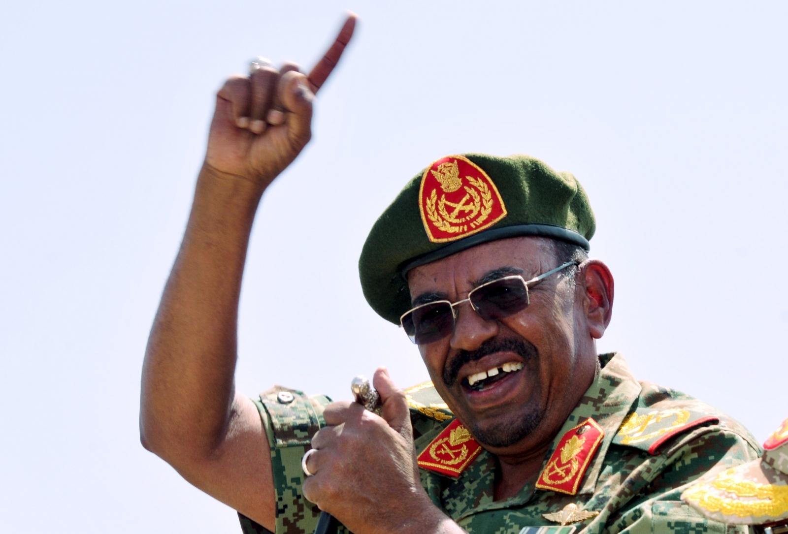 Sudan's President Omar Hassan al-Bashir