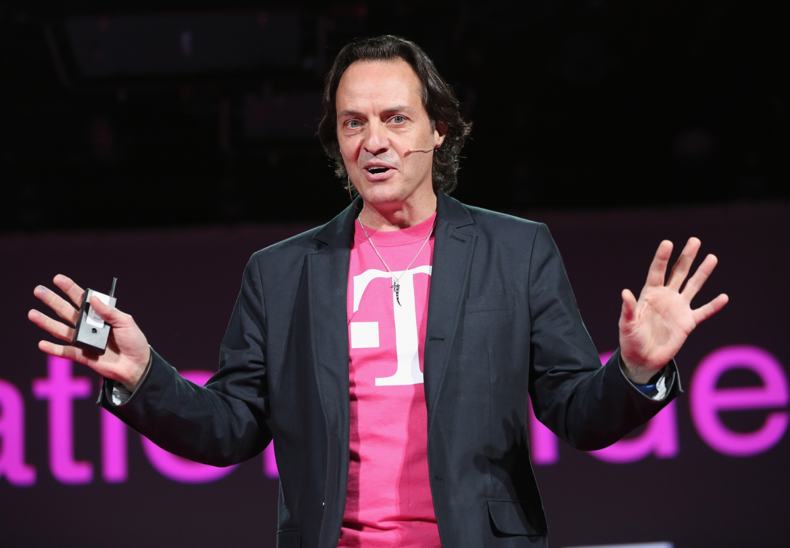 John Legere, CEO of T-Mobile US