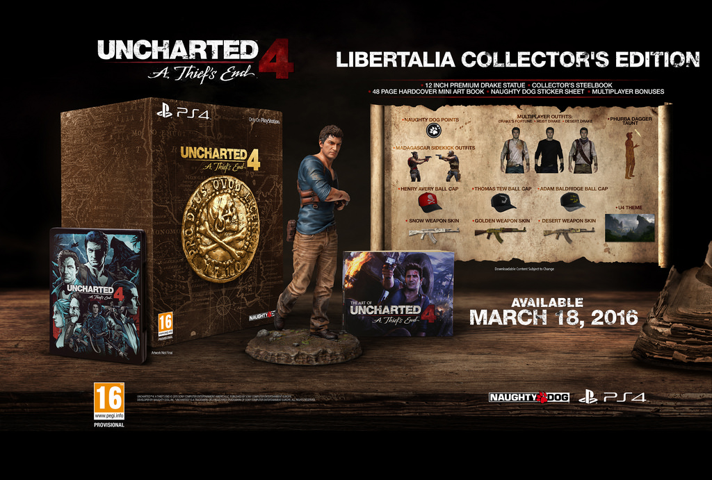 Uncharted 4 A Thief S End Release Date Set For March As Special Editions Announced