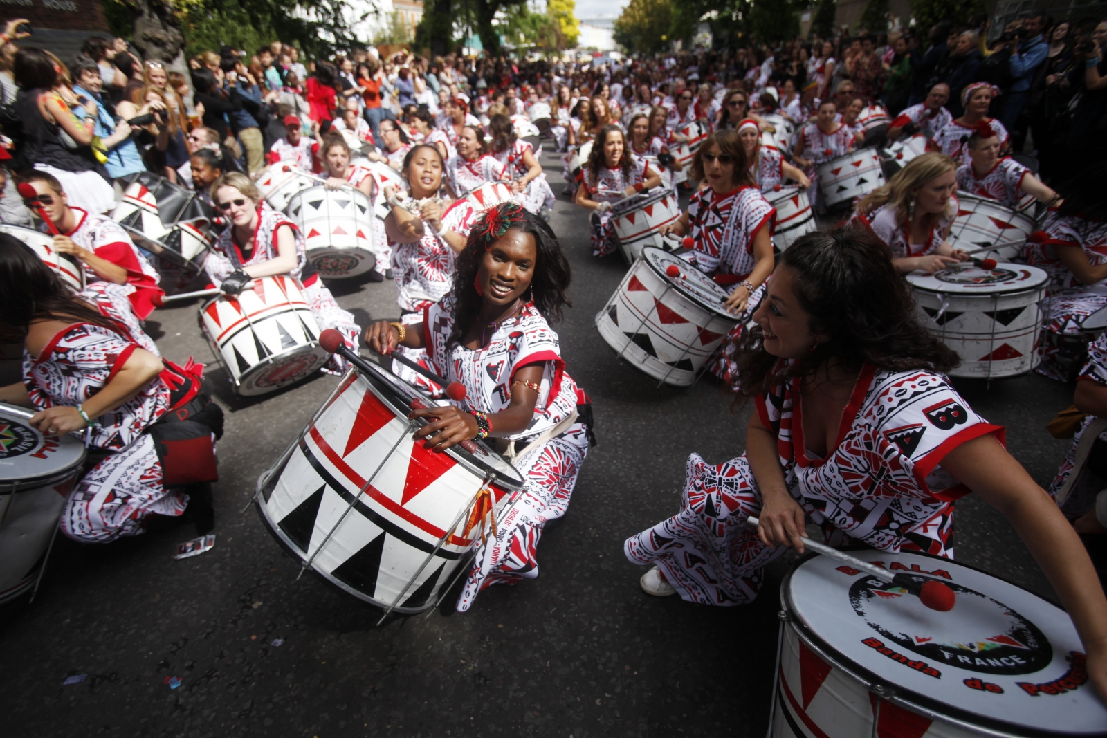 Notting Hill Carnival gets underway