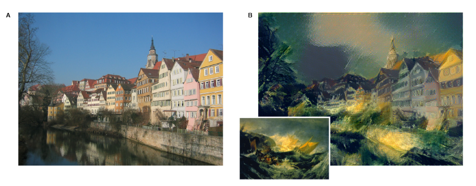 Deep learning algorithm: From house to JMWTurner