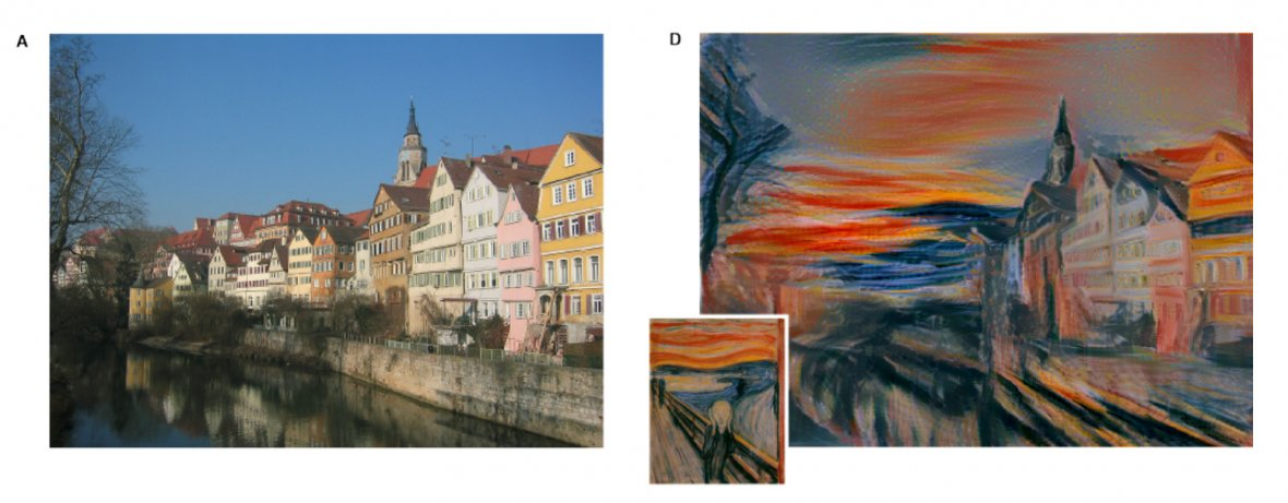 Deep learning algorithm: From photograph to EdvardMunch