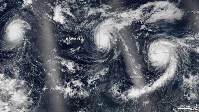 Nasa image of El Nino
