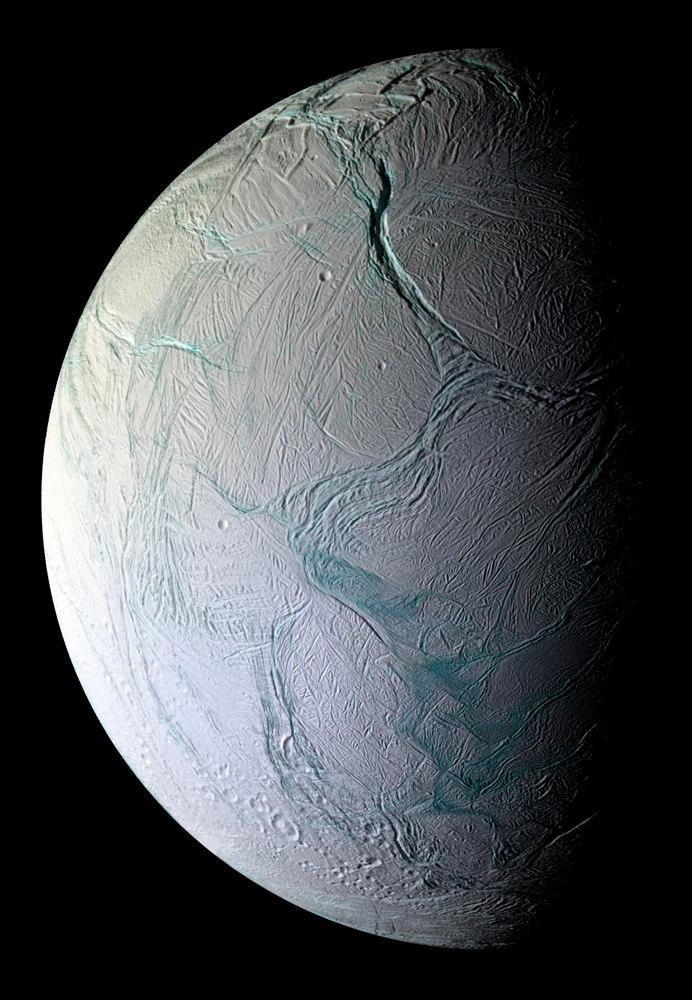 Enceladus moon Saturn aliens