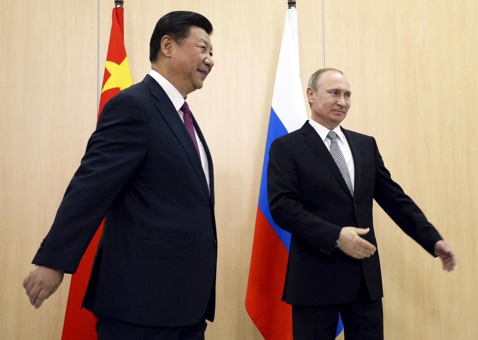 Vladimir Putin in China