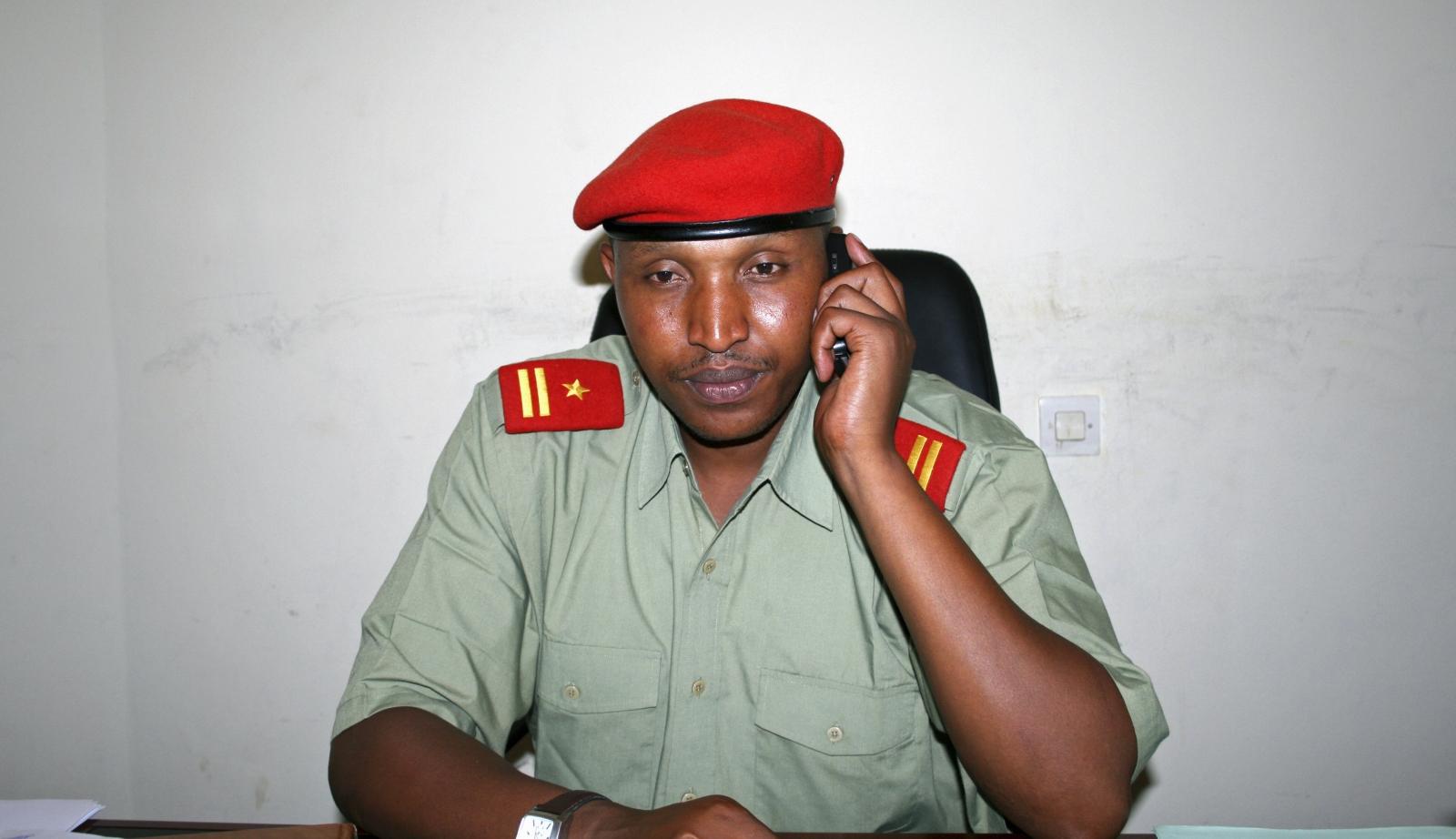 Congo rebel leader Bosco Ntaganda