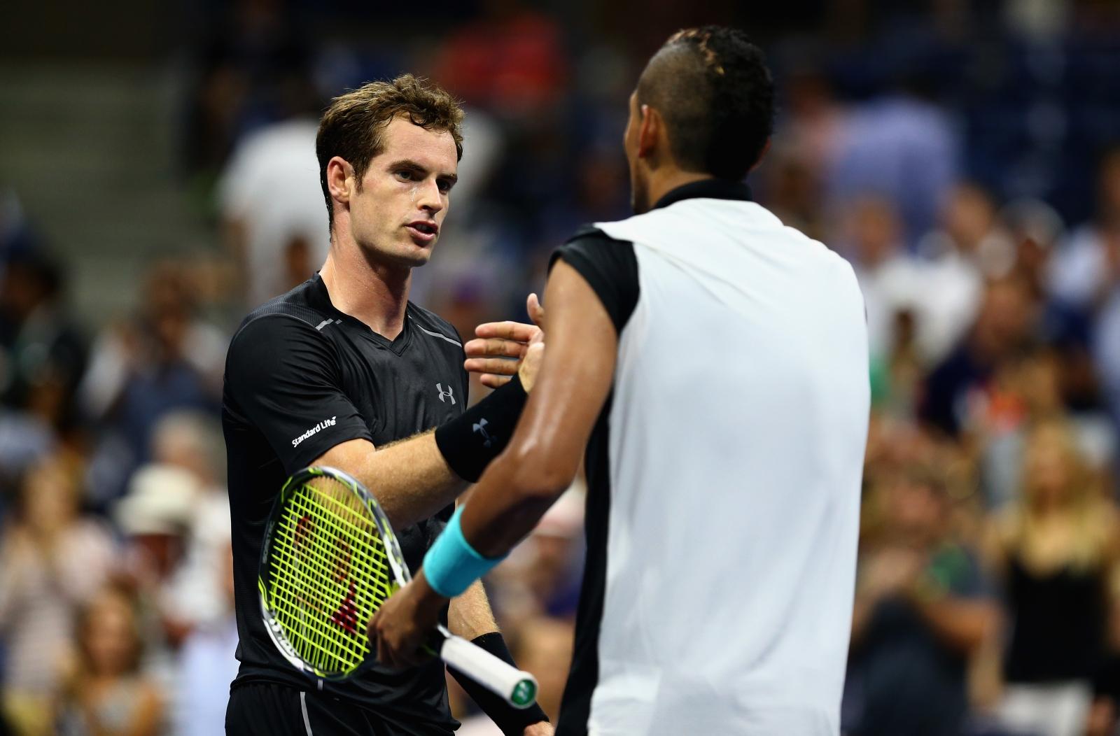 Andy Murray Nick Kyrgios US Open 2015