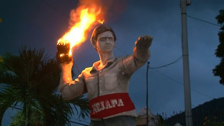 El Salvador fireball festival,