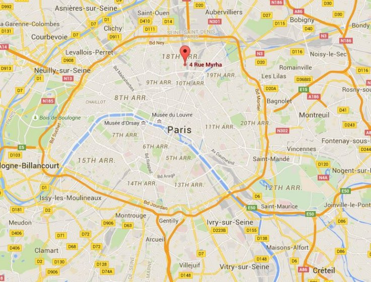 Paris XVIII arrondissement fire