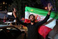 Iran nuclear deal celebration