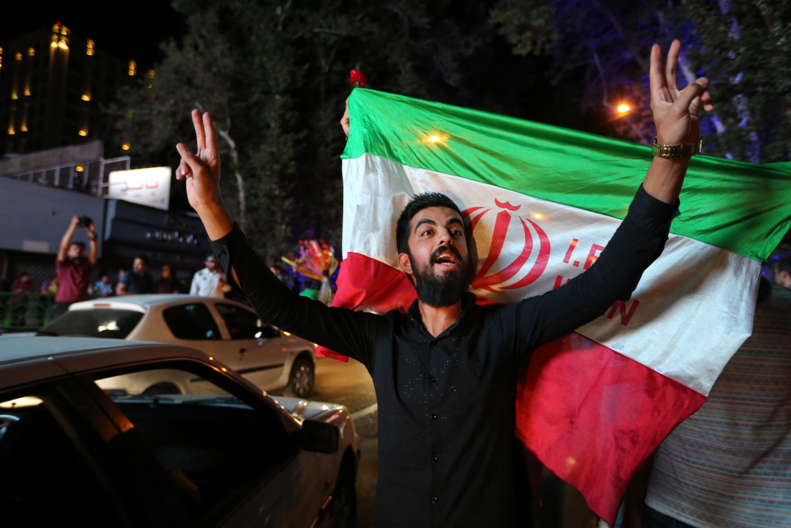 Iran nuclear deal celebration