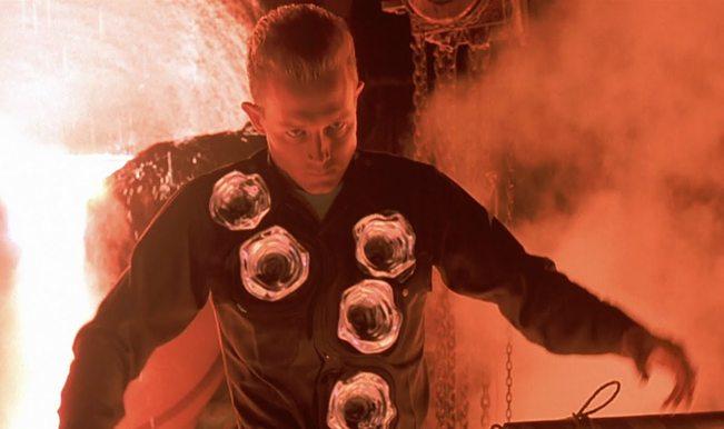 terminator style self healing material