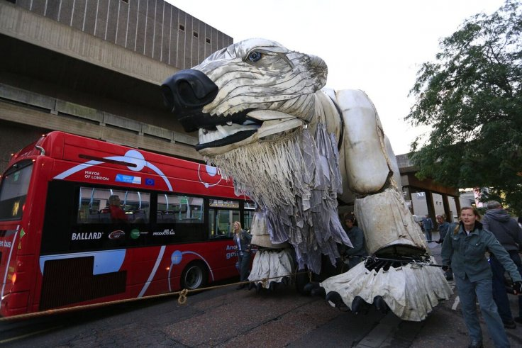 Greenpeace polar bear