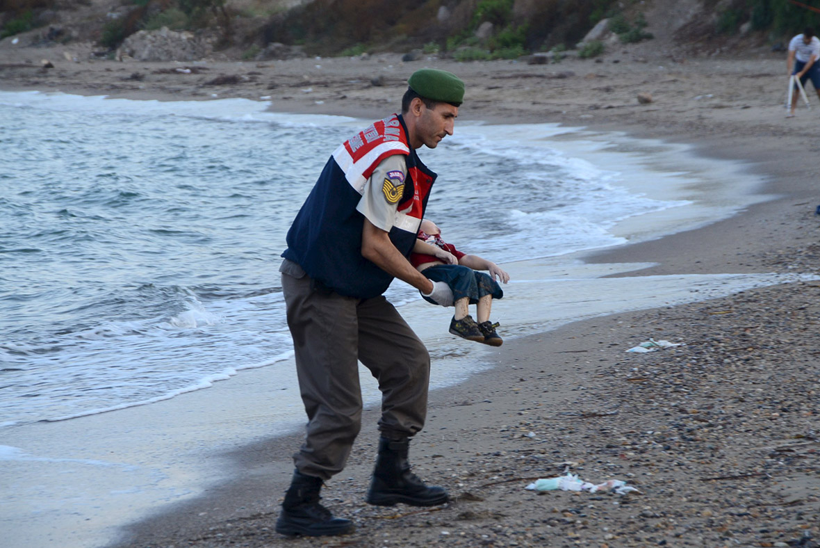 migrant child dead beach turkey Bodrum