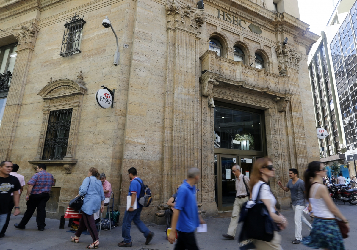HSBC bank, Buenos Aires