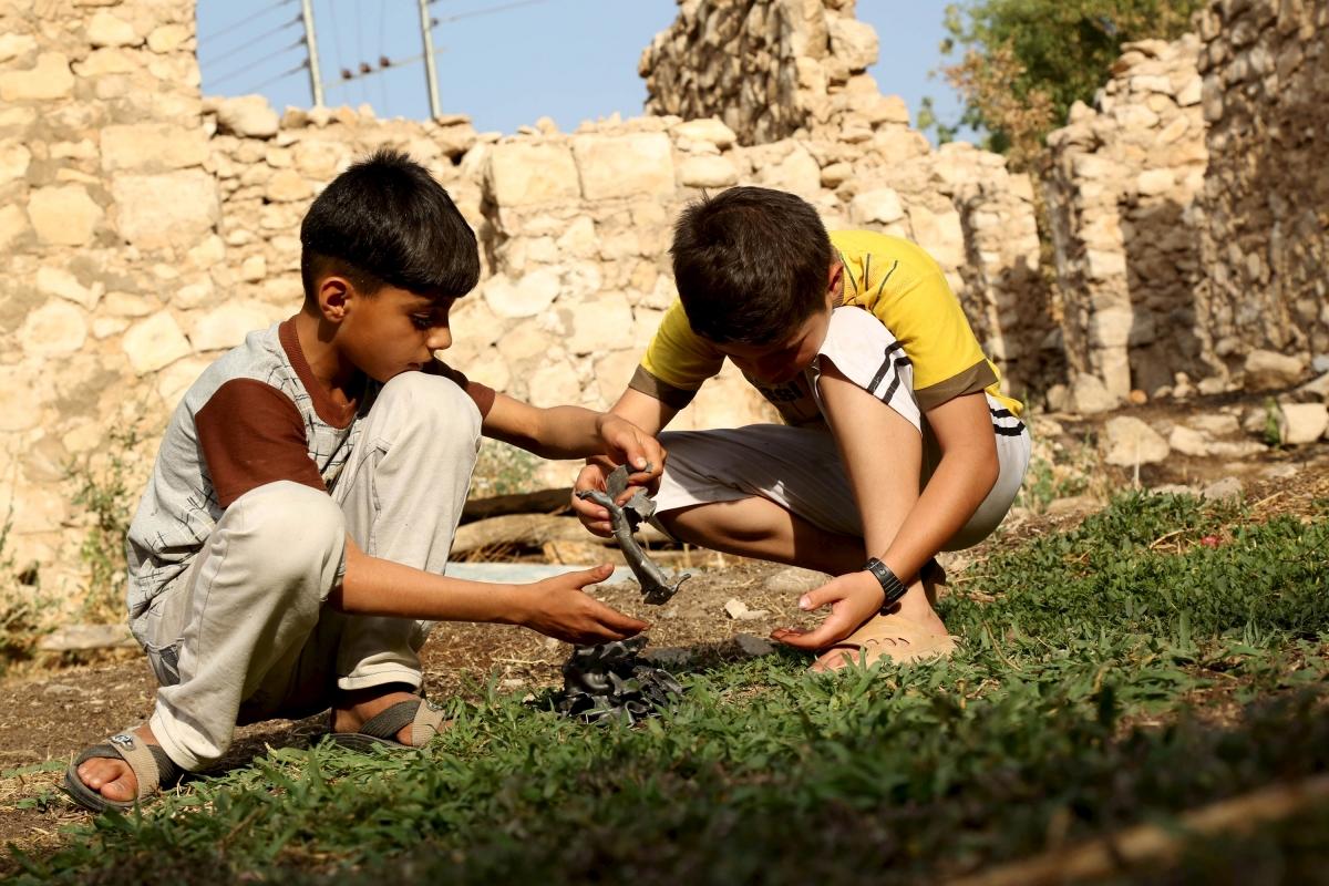 Unicef children conflict zones
