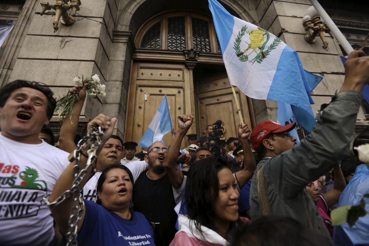 Guatemala President Otto Perez resigns