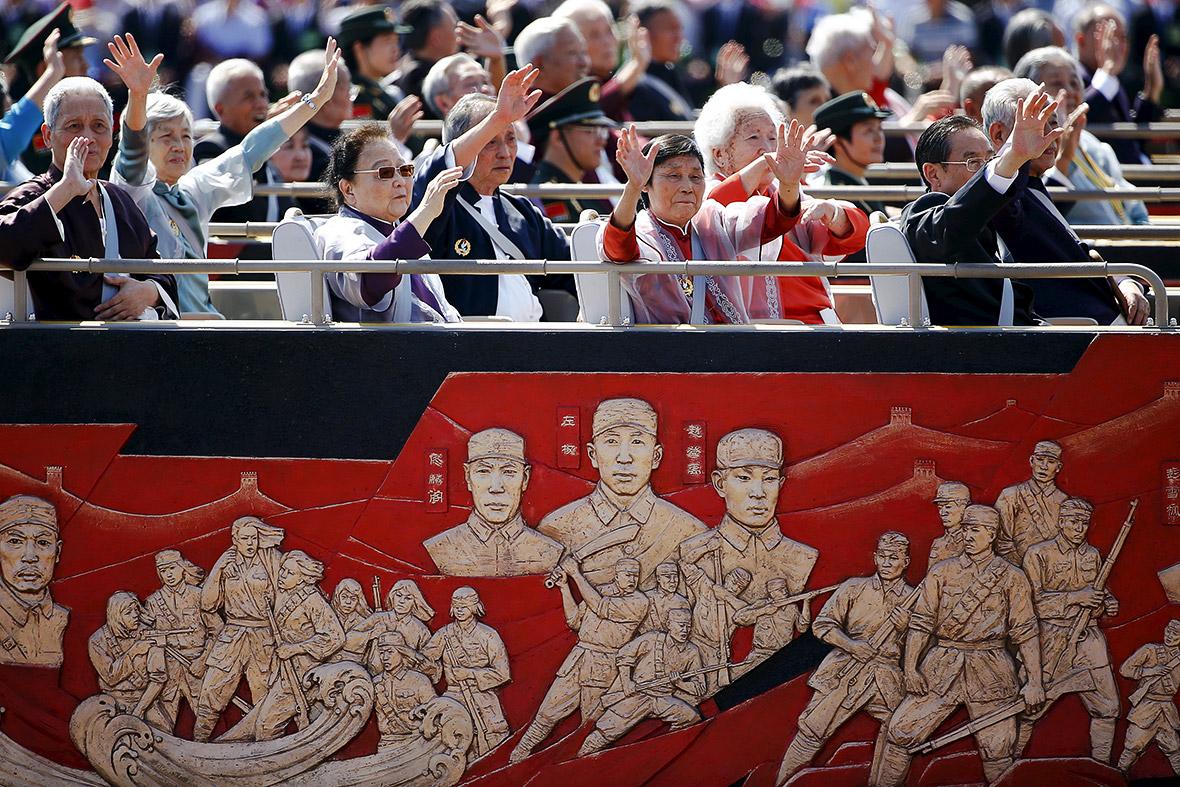 beijing china war parade