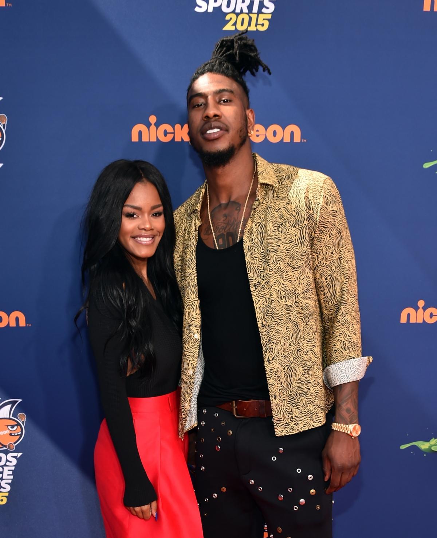 Teyana taylor dating basketball player