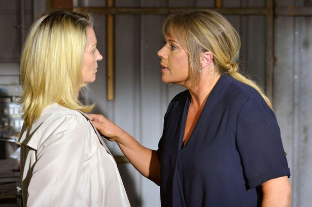Kathy Beale and Sharon Mitchell