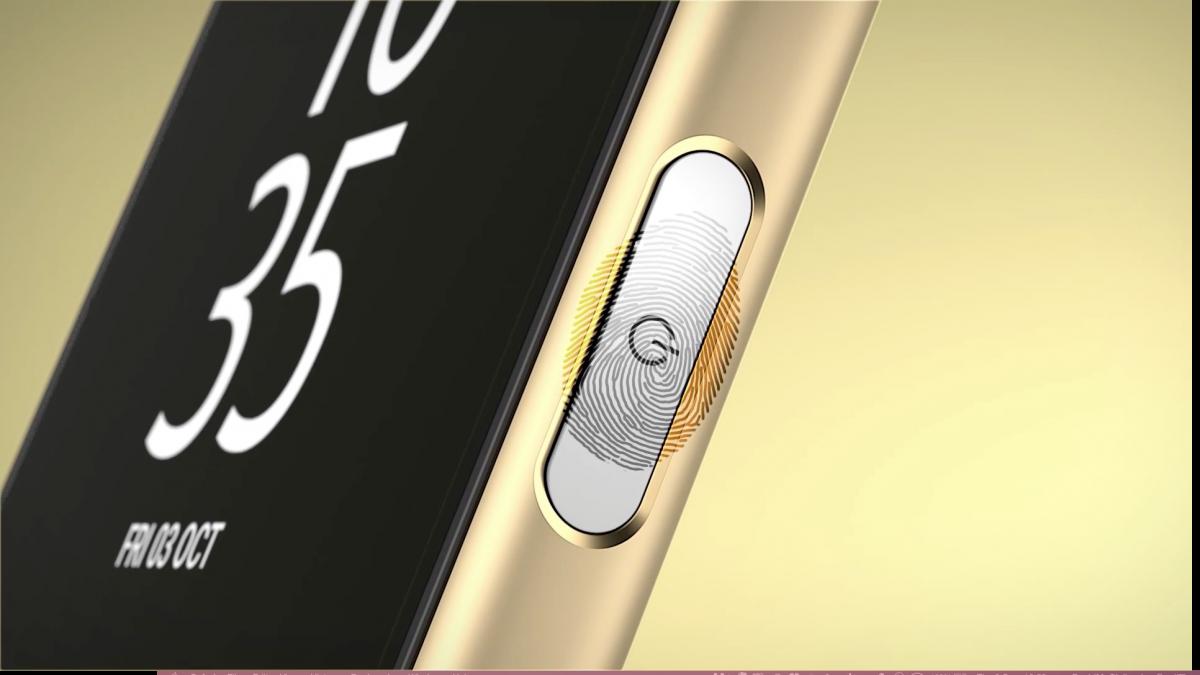 Sony Xperia Z5 Biometric Power Button