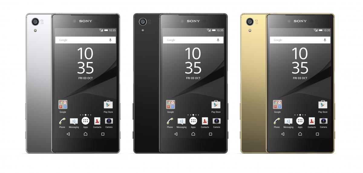 Sony Xperia Z5 Premium Range