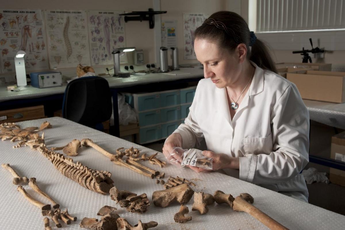 battle of dunbar Dr Anwen Caffell remains
