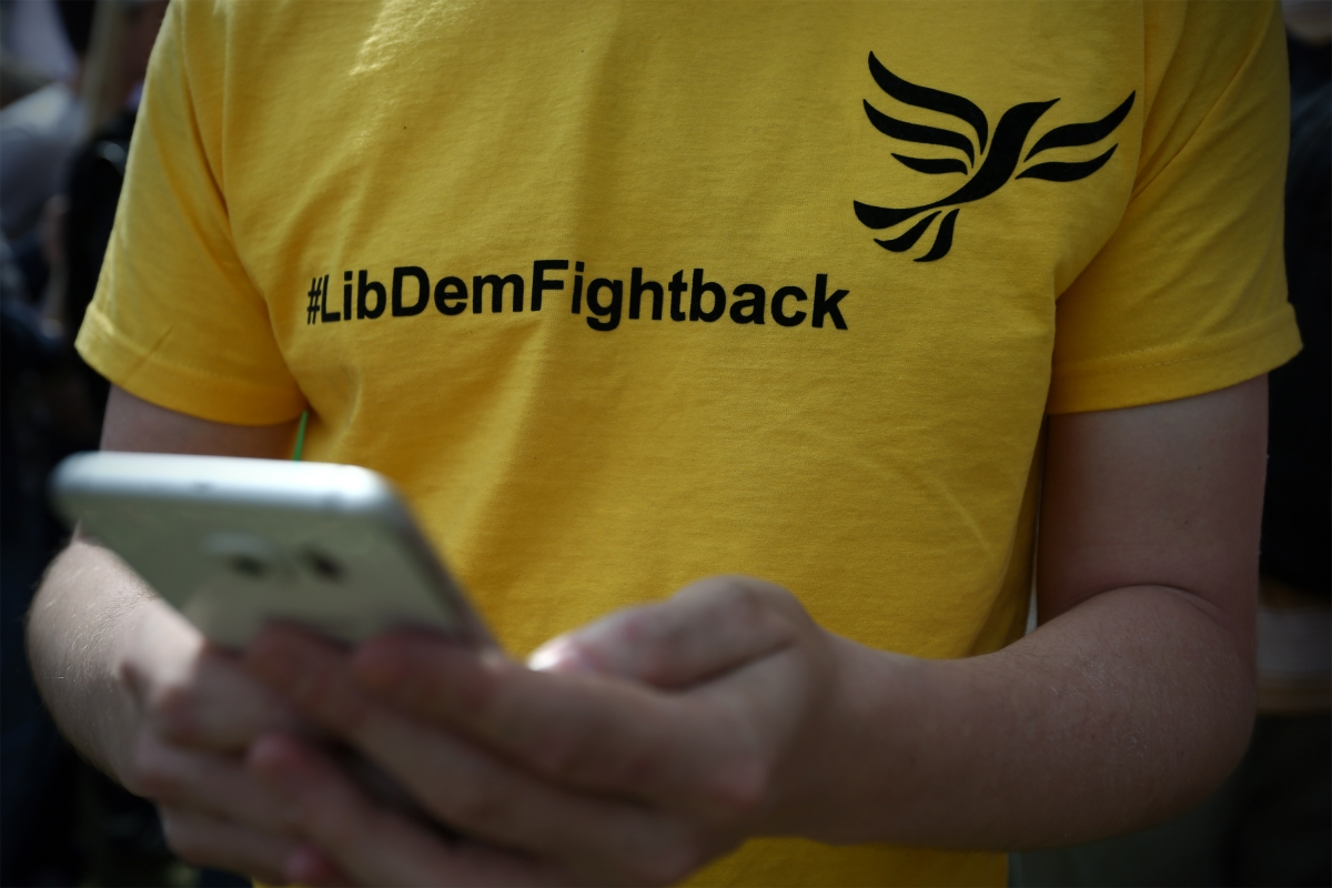 Lib Dem fightback t-shirt