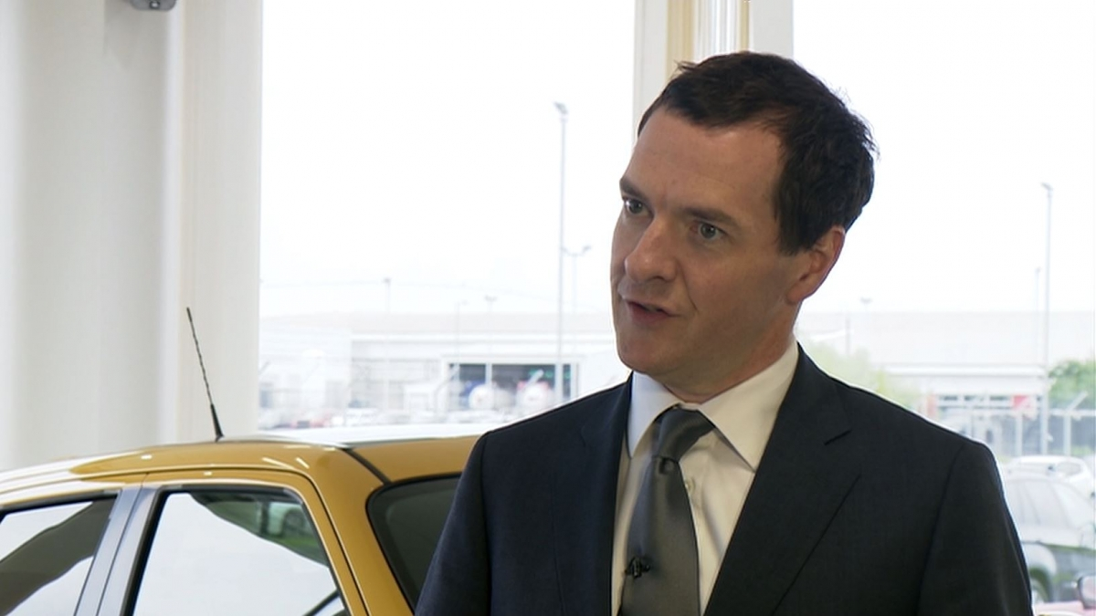 George Osborne reacts to refugee boy's death