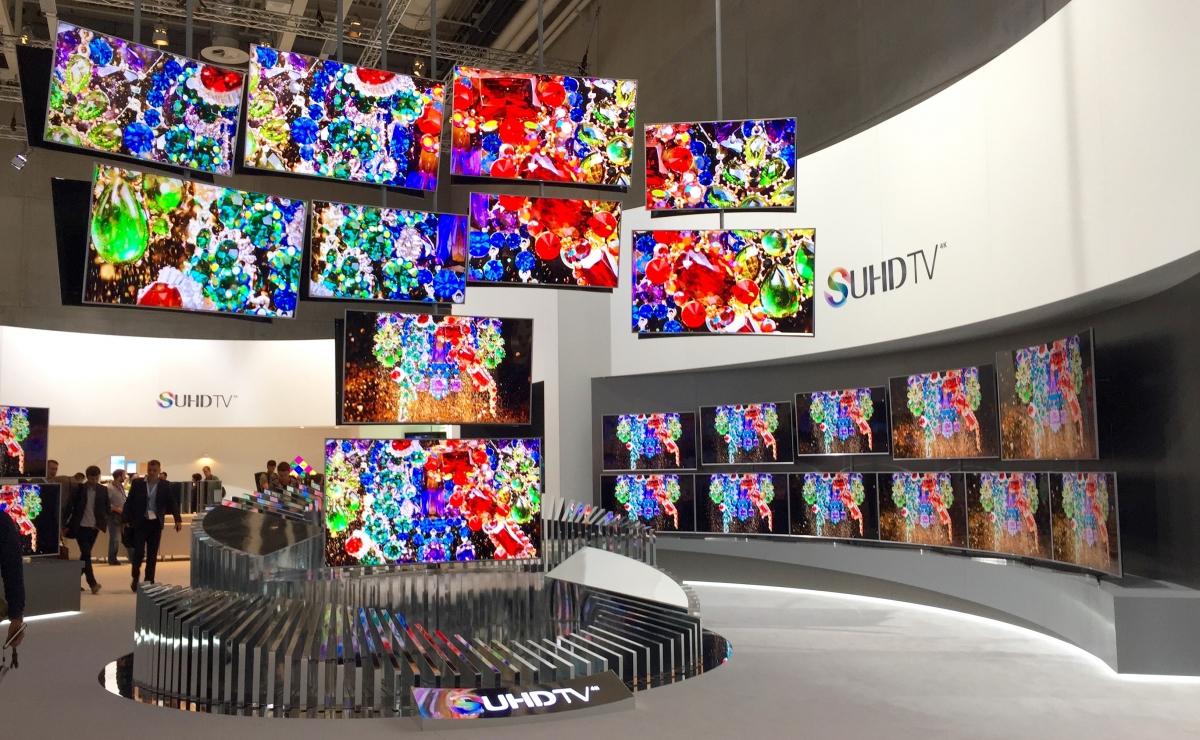 Samsung SUHD televisions at IFA
