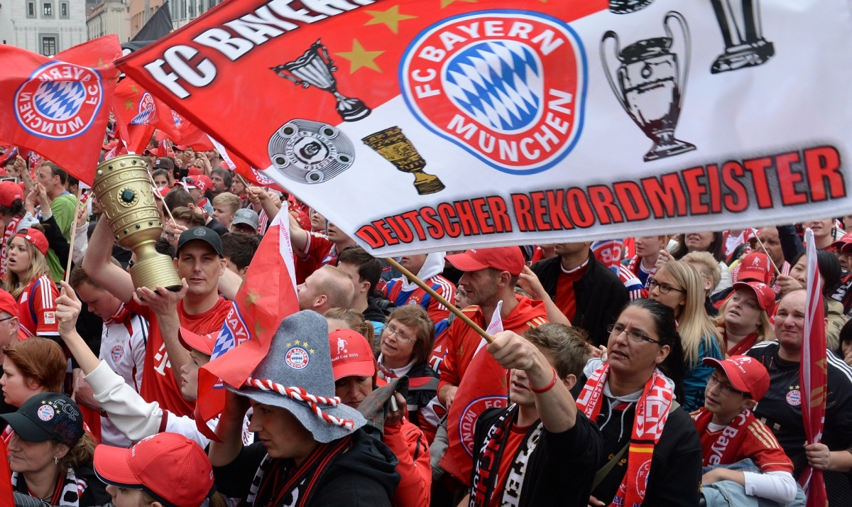 Bayern Munich fans