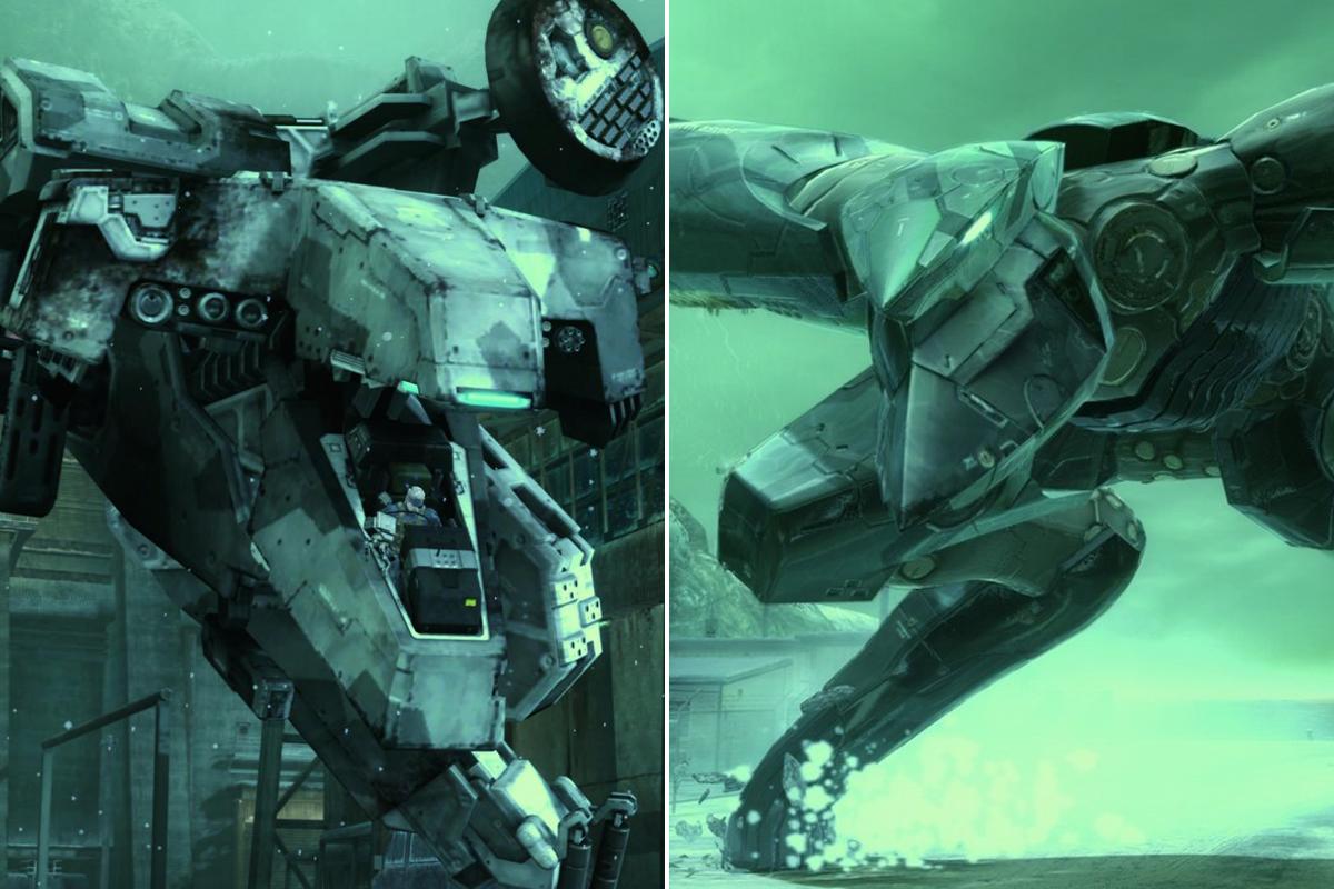 Metal Gear Ray vs Rex