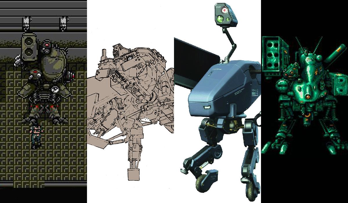 Metal Gear Solid Ranking The Series 10 Best Metal Gear Mechs
