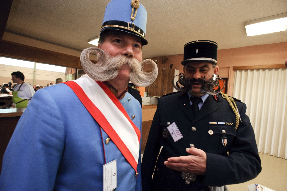 European Beard and Moustache Championships wittersdorf france