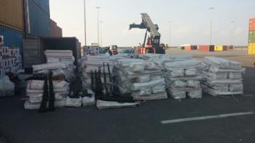 Libya-bound cargo ship Haddad 1 weapons