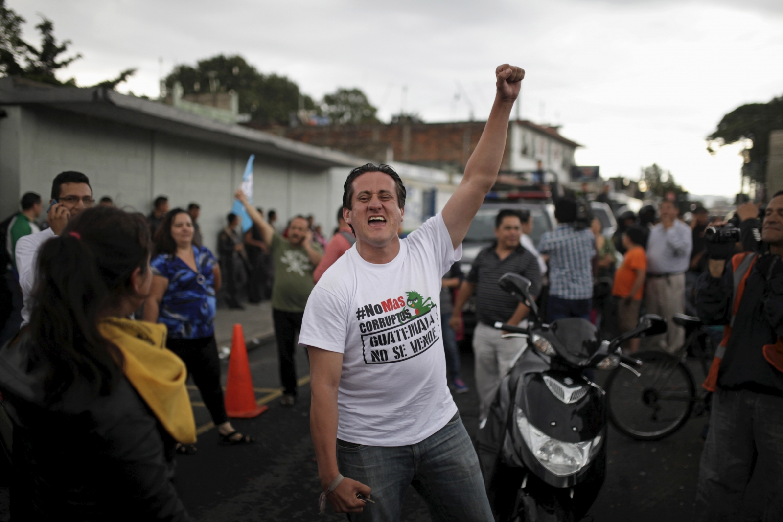 Guatemala president resigns