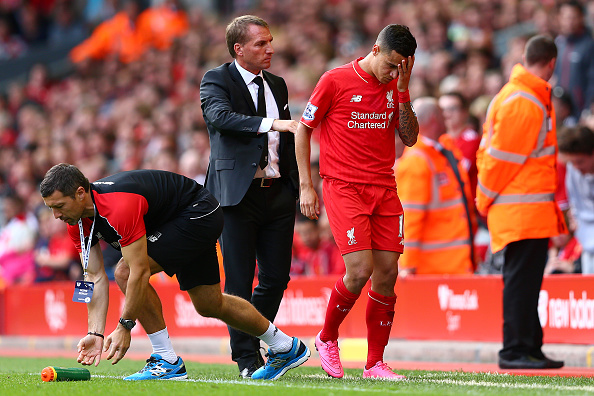 Brendan Rodgers-Philippe Coutinho