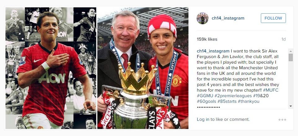 Hernandez Instagram post