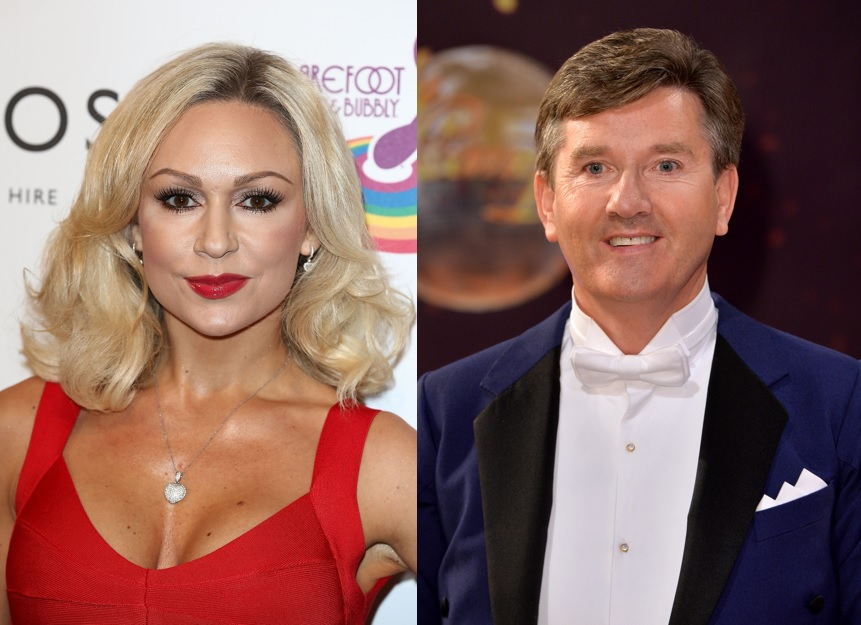 Kristina Rihanoff and Daniel O'Donnell